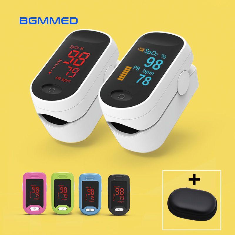 Oxymètre De pouls numérique médical LED oxymètre De fréquence cardiaque à oxygène sanguin SpO2 moniteurs De santé