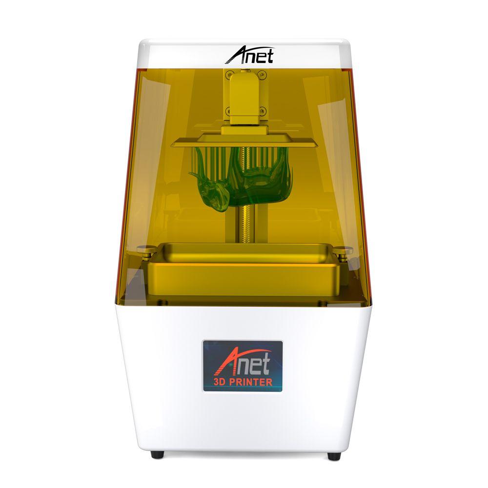 2019 neue Anet N4 DLP 3,5 ''Farbe Touch Screen Max 45μm Hohe Präzision Lichtempfindliche Harz Desktop DIY KIT 3D drucker Maschine