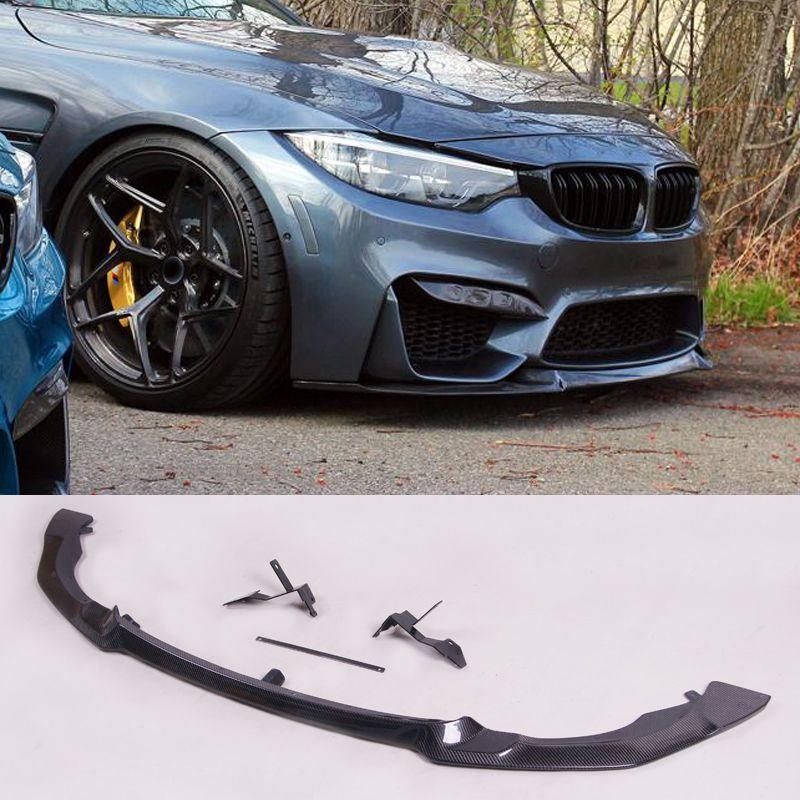 C-0S Stil Carbon faser 1:1 Front Lip Spoiler Für BMW F80 M2 F82 M4
