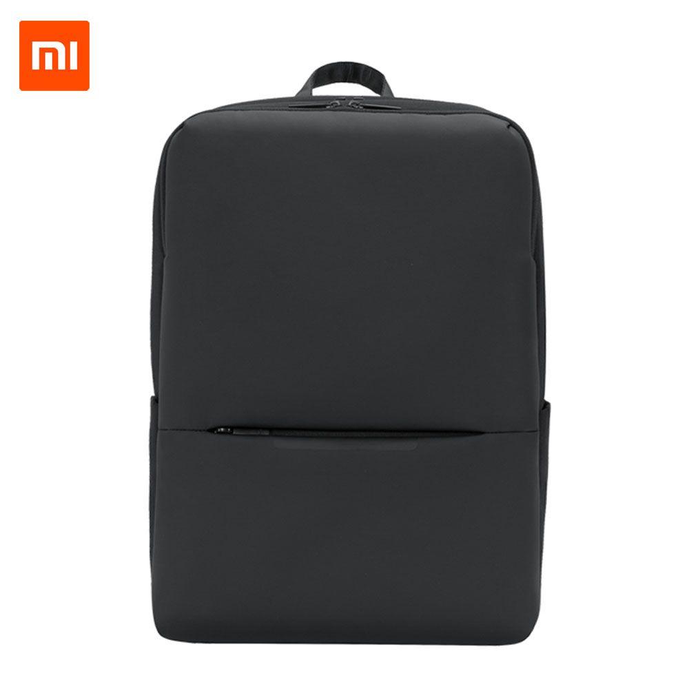 Original Xiaomi Classic Business Backpack 2 Generation 15.6inch Students Laptop Shoulder Bag Unisex Outdoor Travel