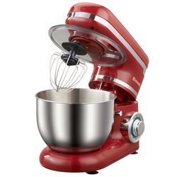 1200W 4L 6-speed Kitchen Electric Food Stand Mixer Whisk Blender Cake Dough Bread Mixer Maker Machine
