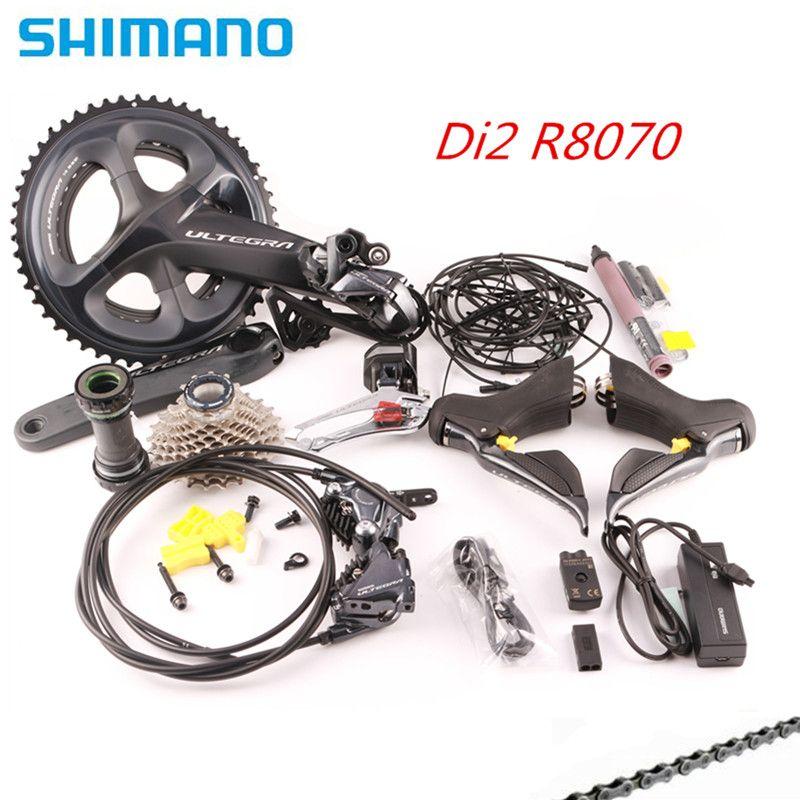 SHIMANO R8070 Di2 Groupset ULTEGRA R8070 Schaltwerke STRAßE Fahrrad ST + FD + RD R8050 Umwerfer SCHALTWERK Shifter r8050