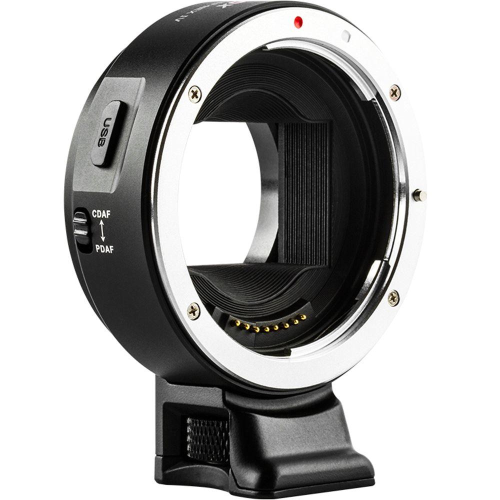 Viltrox EF-NEX IV adaptateur d'objectif à mise au point automatique pour objectif Canon EOS EF EF-S à Sony E NEX plein cadre A9 AII7 A7RII A7SII A6500 A6300