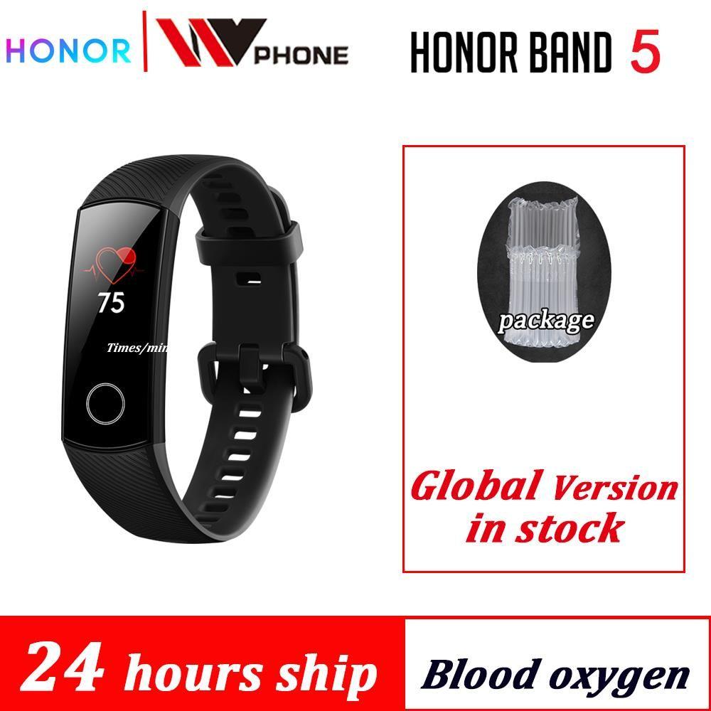 Honor band 5 smart band AMOLED Huawe honor smart watch blood oxygen heart rate fitness sleep swimming sport tracker