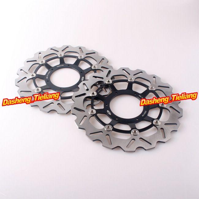 2PCS Front Bremsscheibe Rotoren Für Honda CBR600RR CBR 600RR CBR 600 RR 2003 2004 05 06 07 08 09 10 11 12 13 14 15 16 17 2018 2019