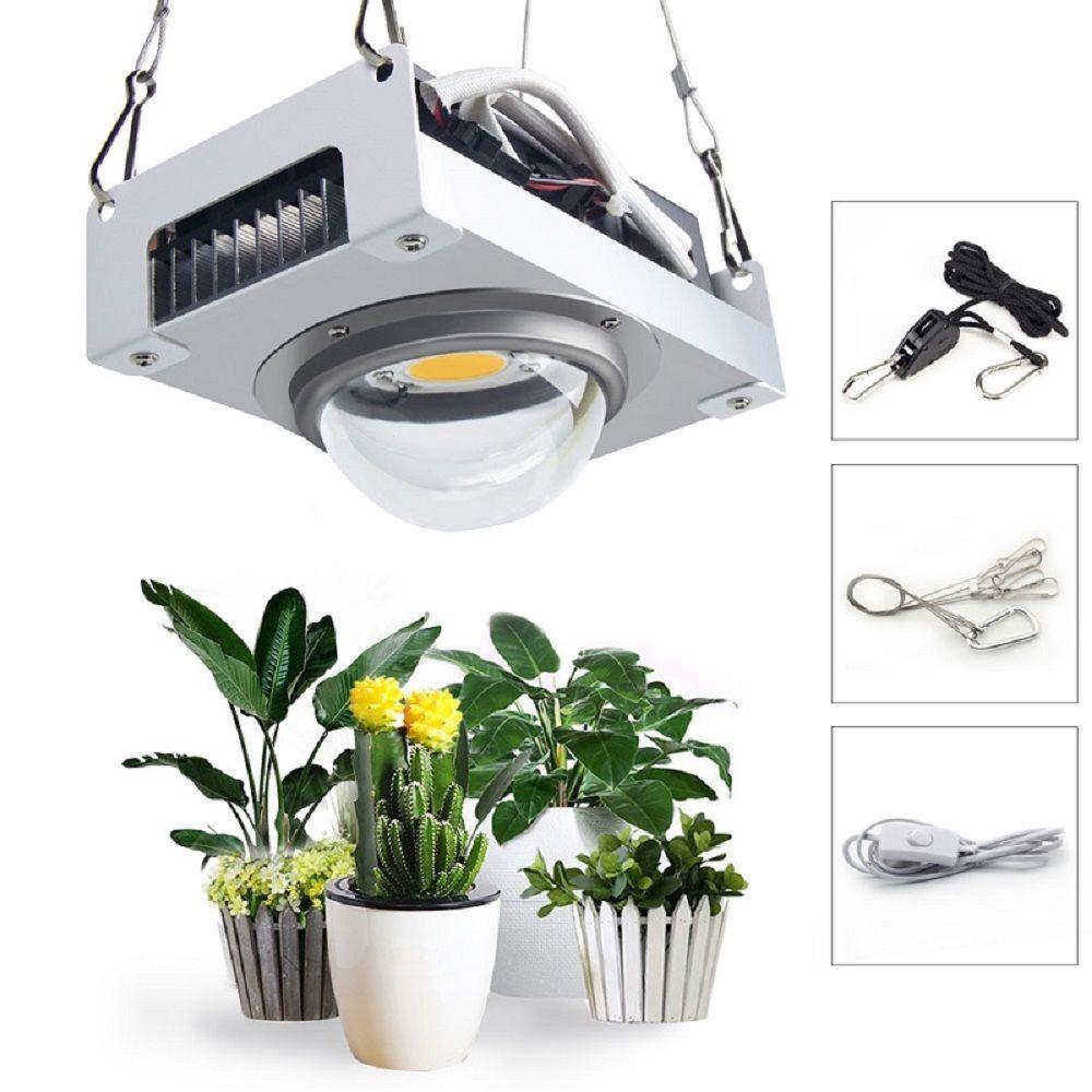 CREE CXB3590 COB LED Wachsen Licht Gesamte Spektrum 100W Citizen 1212 LED Anlage Wachsen Lampe für Innen Zelt Gewächshäuser wasserkulturanlage