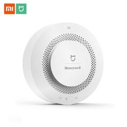 Original Mijia Fire Alarm Gas Detector Smoke Progressive Sound Alarm Support Remote Control APP Smart Home Security