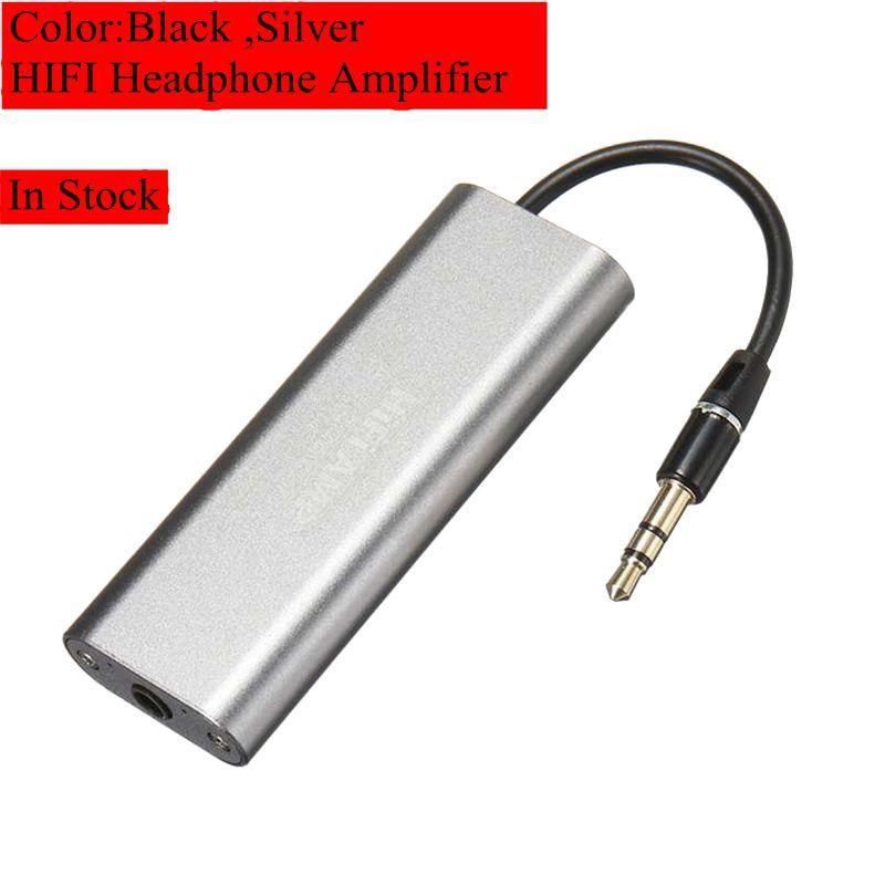LEORY SD05 HIFI casque amplificateur professionnel Portable Mini 3.5mm casque Audio amplificateur pour téléphones mobiles