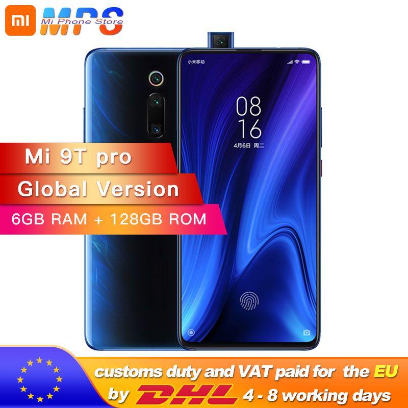 Globale version Xiao mi mi 9T Pro 6GB 128GB (Rot mi k20 PRO) smartphone Snapdragon 855 4000mAh 48MP Hinten Kamera AMOLED6.39