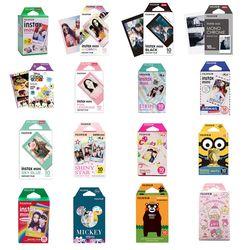 10-200 sheets Fuji Fujifilm instax mini 9 8 white Colourful Edge Fims for instax Camera mini 8 9 7s Photo paper