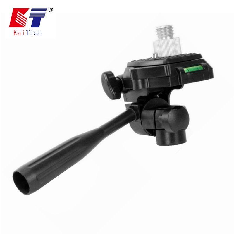 Kaitian 360 support de réglage de l'angle Laser de Rotation avec tige d'extension pour trépied et niveau avec fonction d'inclinaison pour 12 lignes Laser