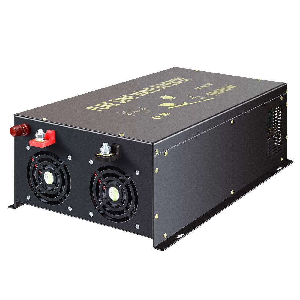Off Grid Reine Sinus Welle Solar-wechselrichter 24V 220V 10000W Power Inverter 12 V/24 V zu 120 V/220 V/240 V DC zu AC Konverter Mit Fernbedienung