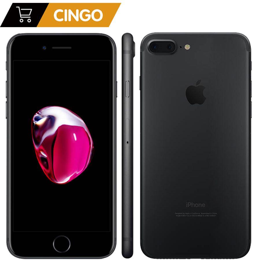 Apple iPhone 7 Plus 3GB RAM 32/128 GB/256 GB IOS Handy LTE 12.0MP Kamera apple Quad-Core Fingerprint 12MP 2910mA