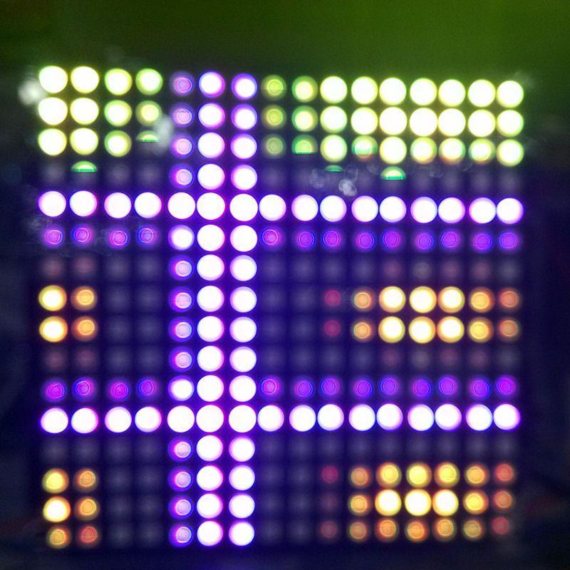 1 pcs/lot DC5V 16x16 Pixel WS2812B LED numérique Flexible individuellement adressable panneau lumineux