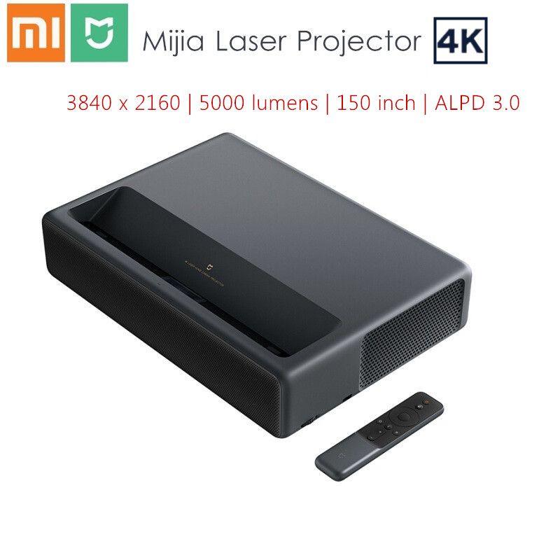 Xiaomi Mijia 4K Laser Projektor 3840x2160 150 zoll 5000 lumen TV Heimkino 2GB RAM 16GB ROM ALPD 3,0 Android 6.0 3D