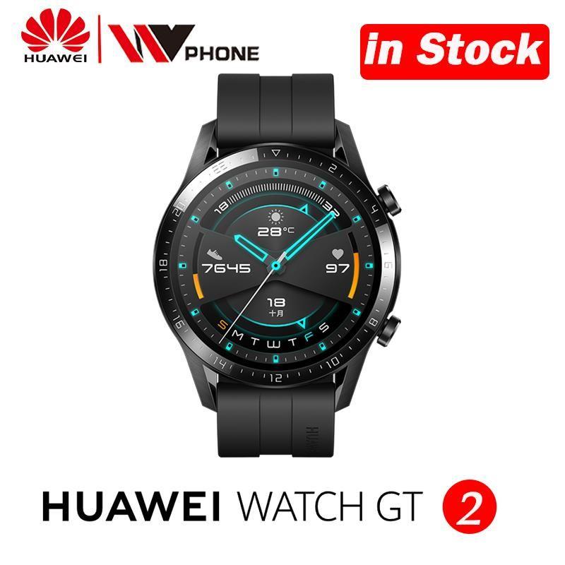 Huawei Uhr GT 2 Smart uhr blut sauerstoff tracker spo2 Bluetooth Smartwatch 5,1 Anruf Herz Rate Tracker Für Android iOS