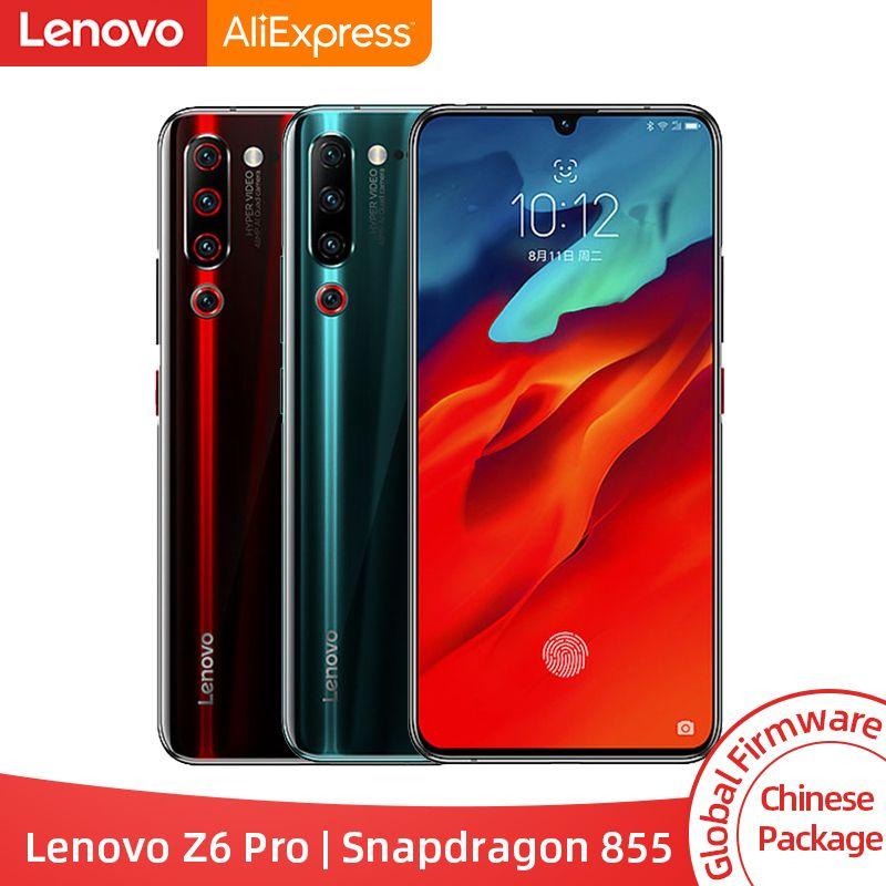 Original Globale ROM Lenovo Z6 Pro Snapdragon 855 Octa Core 6,39