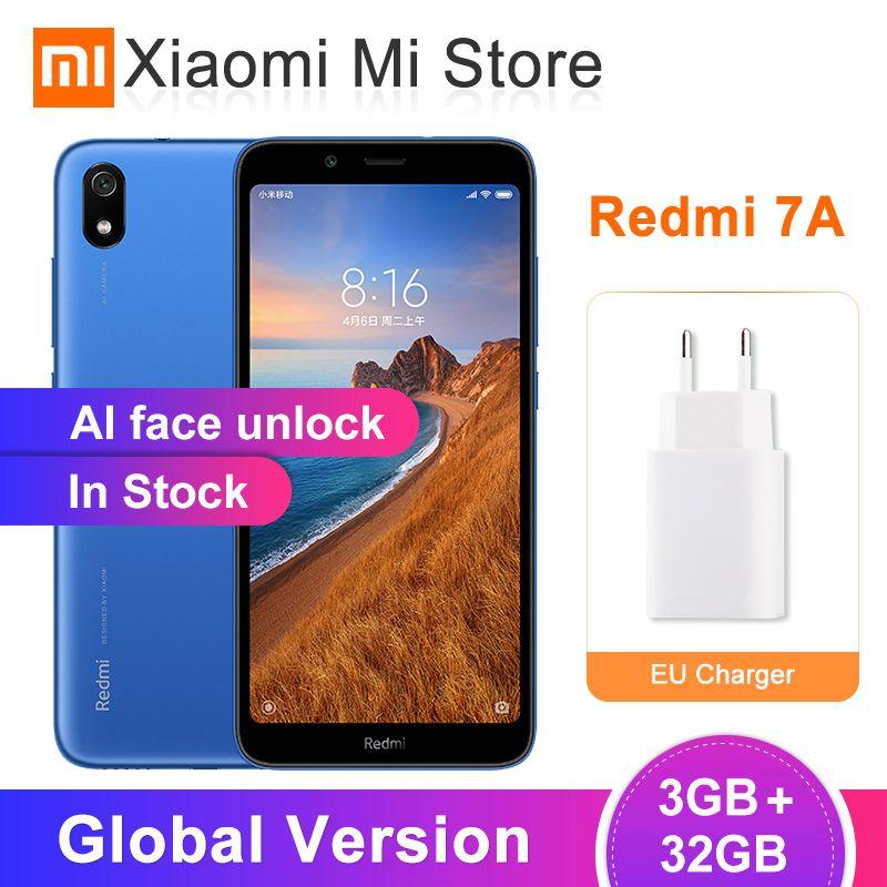 In Stock Global Version Xiaomi Redmi 7A 2GB 32GB Mobile Phone 5.45