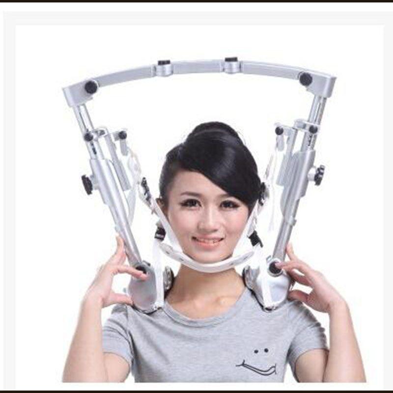 Physikalische zervikale traktion gerät aufblasbare stretching haushalt feste neck kragen hängen rack neck zervikale spondylose