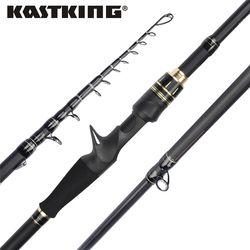 KastKing Blackhawk II Carbon Spinning Casting Rod M, MH Power Ultralight Telescopic Fishing Rod 2.03m, 2.16m , 2.21m , 2.28m