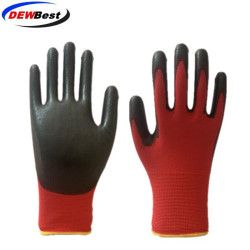 DEWBest guantes trabajo safety work gloves Pu labor working glove 24/12pairs Automotive assembly gloves