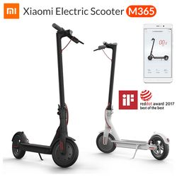 Global Version  Xiaomi M365 Smart Electric Scooter Foldable Lightweight Long Board Skateboard 30KM Mileage Electric Scooter