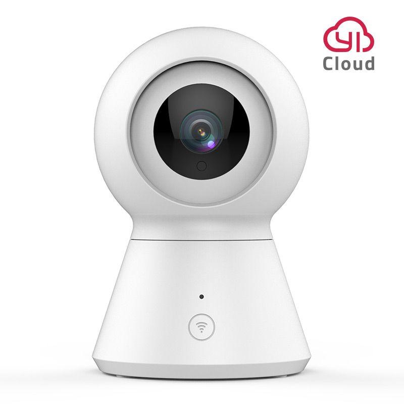 Caméra dôme intelligente 1080p alimentée par YI panoramique/inclinaison/Zoom sans fil caméra de Surveillance de sécurité Wi-Fi IP Cam YI Cloud