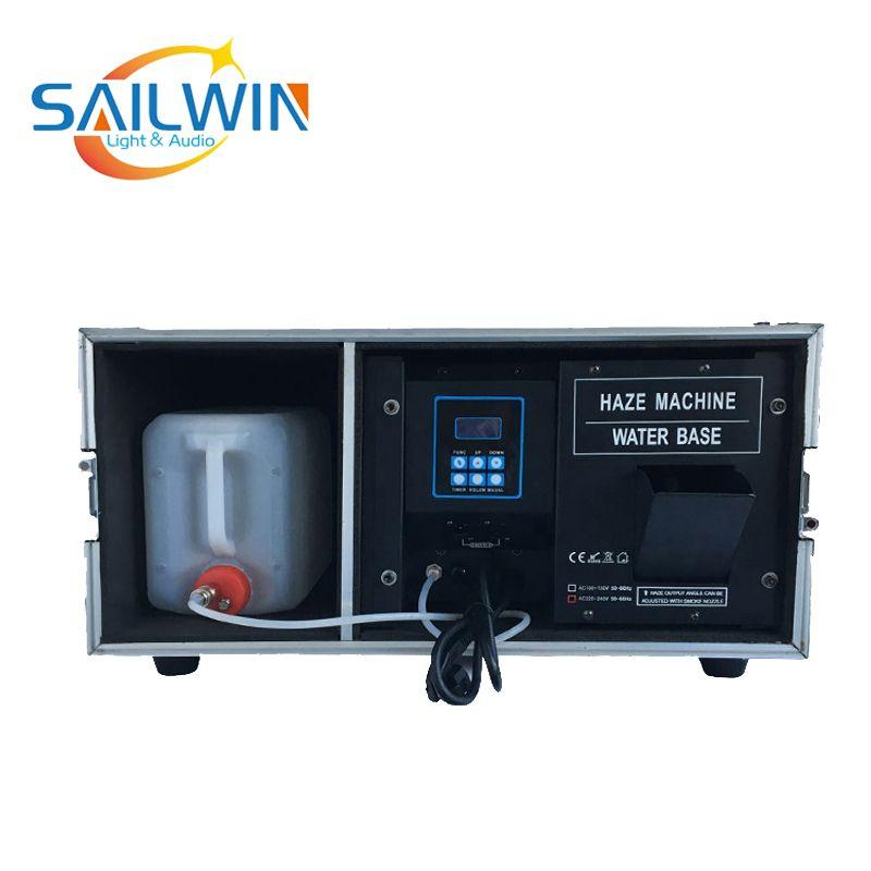 Fabrik Preis 1500W Wasser Basierend Dunst Maschine Mit DMX Flug Fall Bühne Spezielle Effekte Rauch Maschine FOGGER
