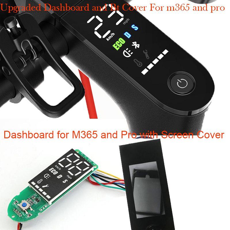 Mise à niveau M365 Pro tableau de bord pour Xiaomi M365 Scooter avec couvercle d'écran BT Circuit imprimé pour Xiaomi M365 Pro Scooter M365 accessoires