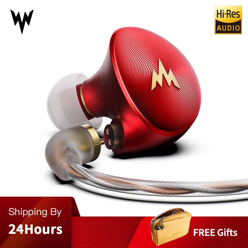 Kulaklık A-HE03 HiFi Bass Kopfhörer Hallo-Res Headsets Hybrid Anker 2Pin Stecker 3,5mm In Ohr Monitore HiFi Ohrhörer kulaklı