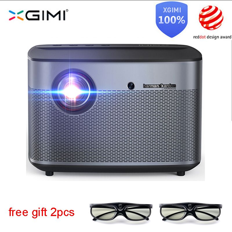 XGIMI H2 Projektor Full HD DLP 1350ANSI Lumen 1080p LED 3D Video Android Wifi Bluetooth Home Theater Projektor 4K Beamer