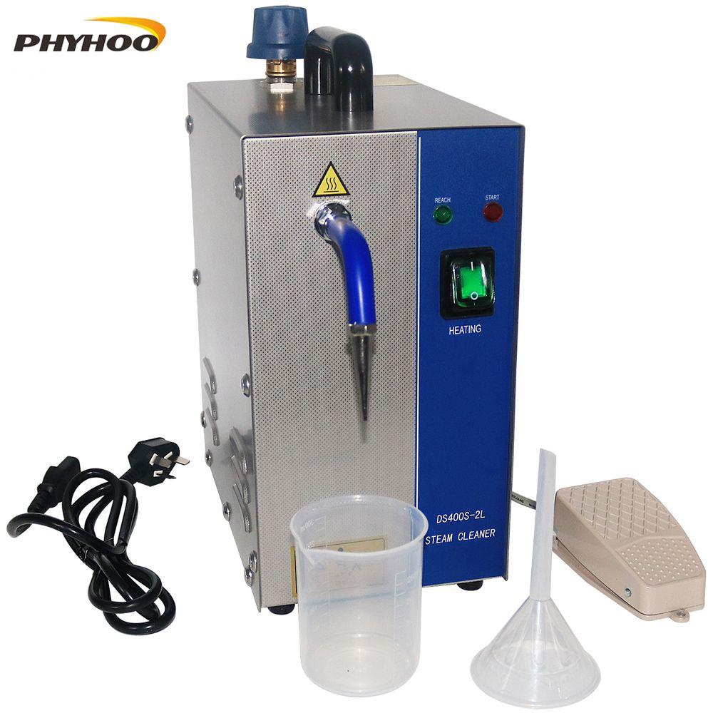 2L Edelstahl Schmuck dampf reiniger Edelstein washer Gold und silber schmuck dampf reinigung maschine goldschmied ausrüstung 1300W