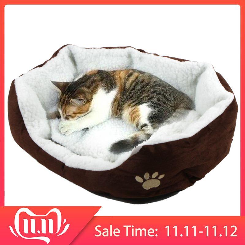 50*40cm lit de chat confortable et doux Mini maison pour chat chien canapé-lit bons produits pour chiot chat fournitures de chien
