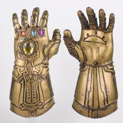 Перчатки Thanos Infinity Gauntlet Мстители Infinity War косплей супергерой Мстители танос латексные перчатки Хэллоуин вечерние реквизит люкс