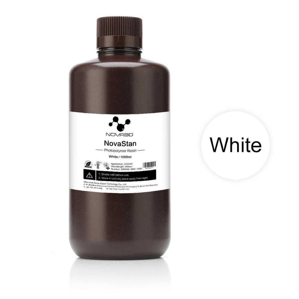 NOVA3D 405nm UV Harz 3D Drucker Druck Material LCD DLP UV Empfindliche Flüssigkeit photopolymer Weiß farbe