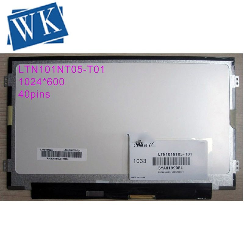 Freies verschiffen LTN101NT05-T01 fit LTN101NT08 B101AW02 V.0 B101AW06 V.0 V.1 N101L6 HSD101PFW4 1024X600 DÜNNE