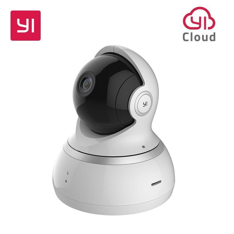 YI 1080P dôme caméra Vision nocturne Version internationale panoramique/inclinaison/Zoom sans fil IP Surveillance de sécurité