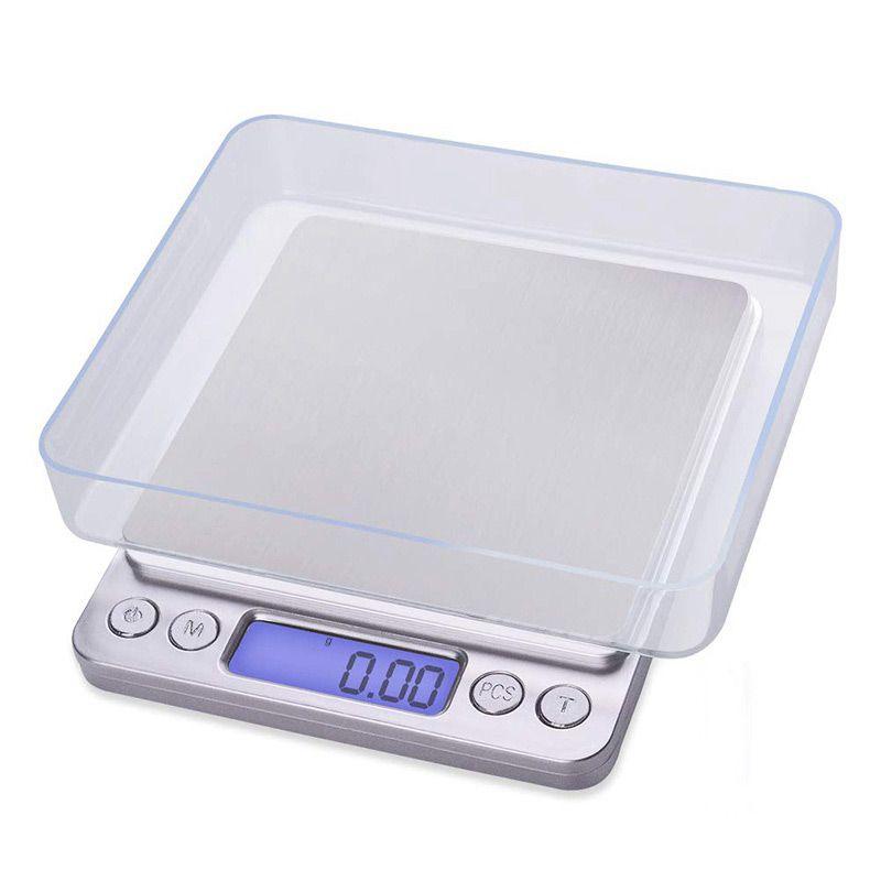 Portable précis électronique numérique balance Mini poche Case postale bijoux poids gramme Balanca alimentaire cuisine balances 500g 0.01g
