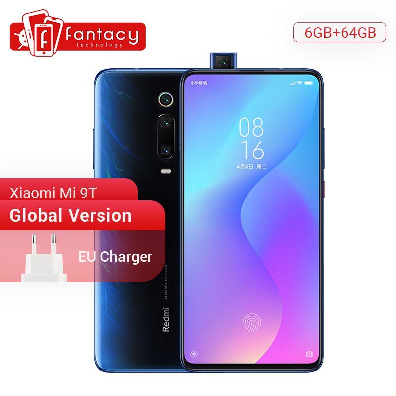 Global Version Xiaomi Mi 9T 9 T Redmi K20 6GB 128GB Snapdragon 730 Octa Core 6.39 Inch AMOLED 48MP Cameras Camera 4000mAh NFC
