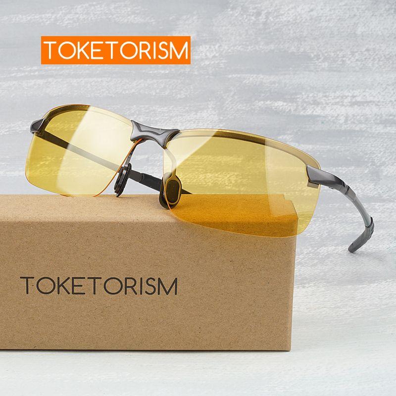 Lunettes de vision nocturne anti-éblouissement Toketorism lunettes de conduite nocturne lunettes hommes femmes lunettes de soleil Y3043