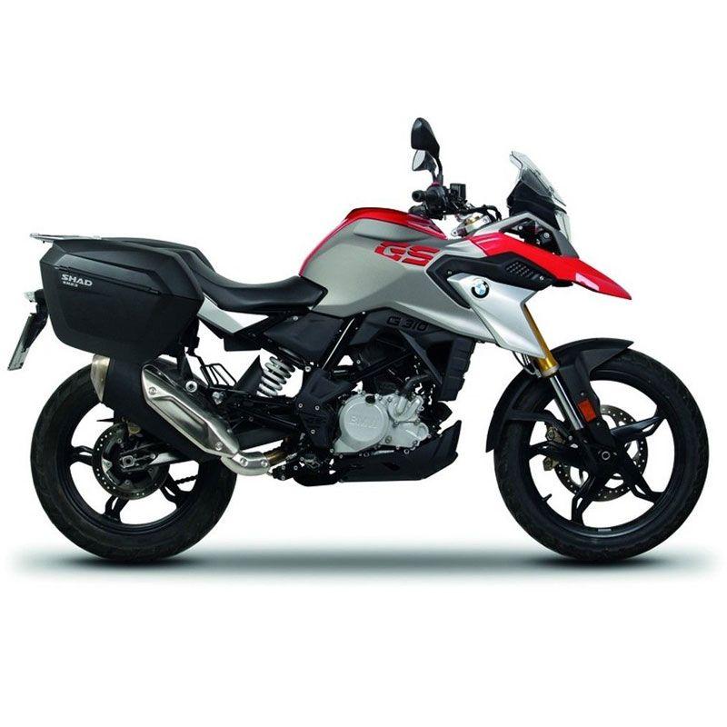 Für BMW G310R G310GS SHAD SH23 Seite Boxs + Seite Rack Set Motorrad Gepäck Seite Fall Sattel Taschen Halterung Träger system