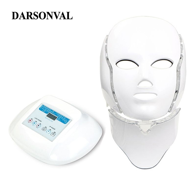LED Mask Facial PDT Phototherapy Anti Aging Machine Led Masks Beauty Skin Rejuvenation Tighten Pores Acne Remover Anti Wrinkle