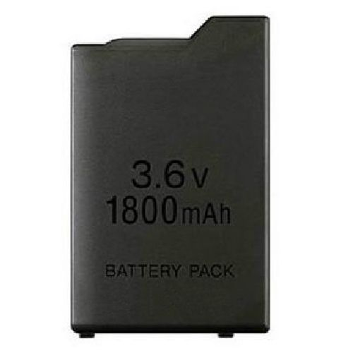 1800mAh 3.6V Lithium Ion Rechargeable Battery Pack Replacement for Sony PSP 1000 PSP-110 Console