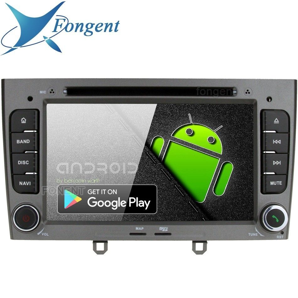 Android 9.0 für Peugeot 408 2010 2011 Peugeot 308 2008 2009 2011 Auto DVD Player Radio GPS Navigator Stereo 64 Gb RDS PR339 PX6
