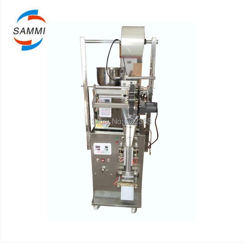 2-200g automatic 3 in 1 dry powder packing machine with a date coder, extra 2 bag former, 10 ribbons