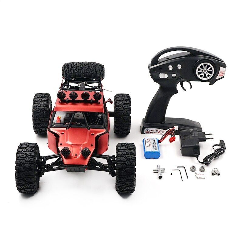 Feiyue FY03H 1/12 2.4G 4WD Metal Body Desert Buggy Brush RC Car Climbing Remote Control RC Electric Car Off Road Truck KidsToy