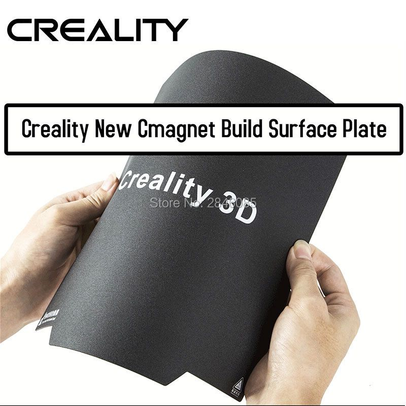 Creality 3Dflexible Upgrade Cmagnet Build Surface Plate Pads Ender-3/CR20/CR-10/CR-10S Heated Bed parts for MK2 MK3 Hot bed