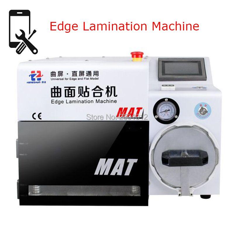Hongzhun MATTE Rand Laminierung und Debubble Maschine Universal für iPhone und Flache Bildschirme mit Alle Formen