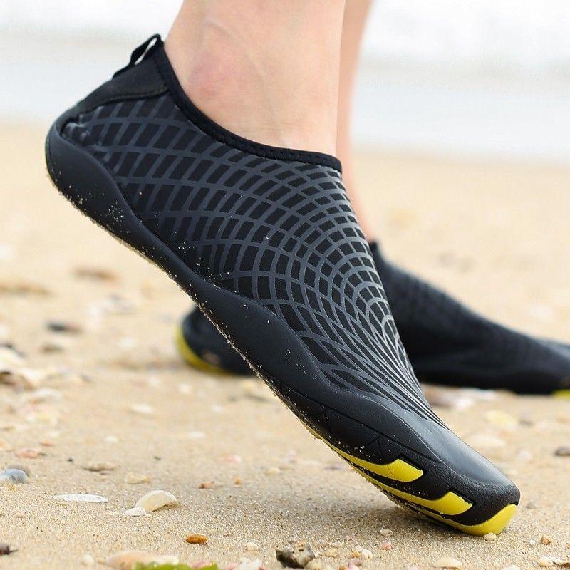 Extérieur en amont plage chaussures homme séchage rapide Wading natation chaussures confortable été Aqua chaussures léger femme baskets