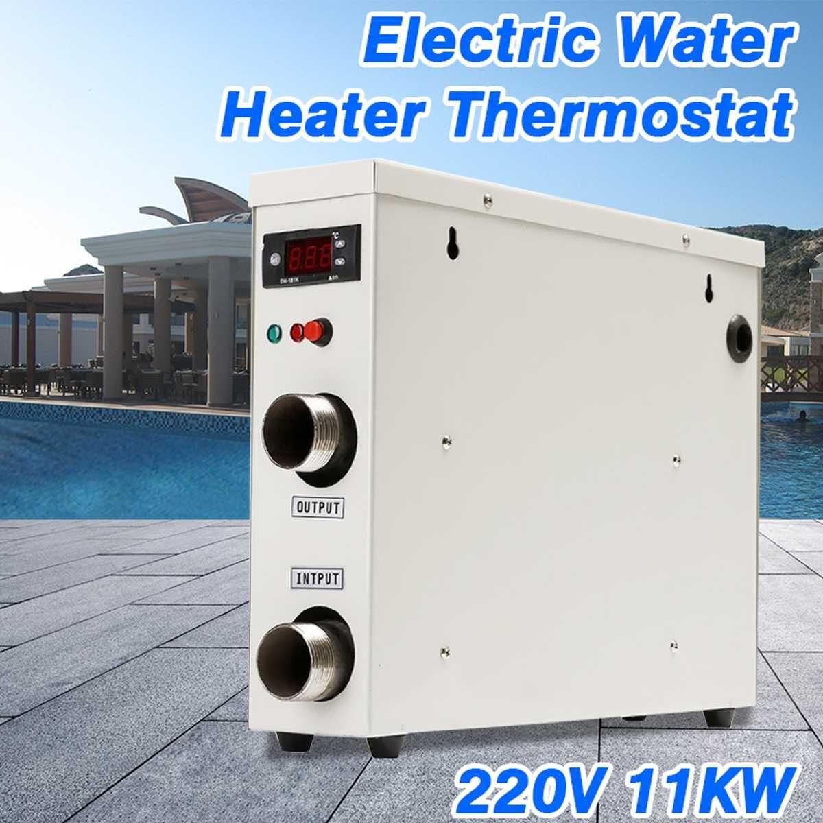 11KW 220 v AC Elektrische Digitale Wasser Heizung Thermostat Für Schwimmen Pool SPA Whirlpool Bad Wasser Heizung